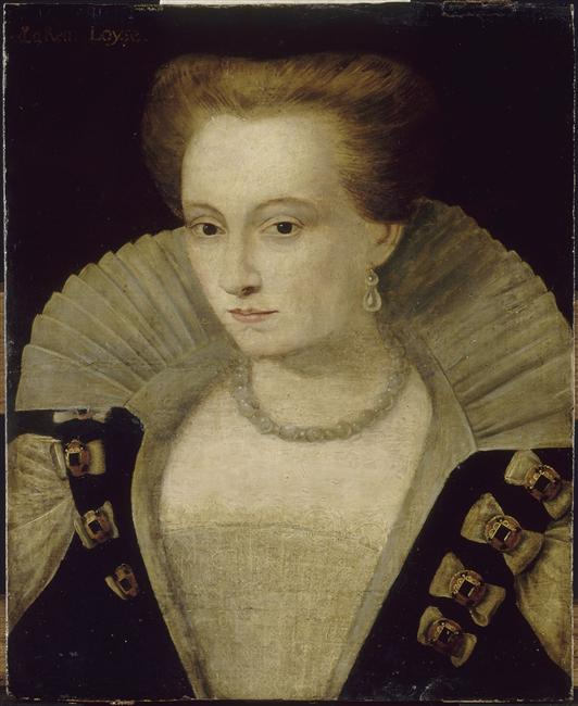 date unknown - Louise de Lorraine, reine de France , épouse d'Henri III - artist unknown