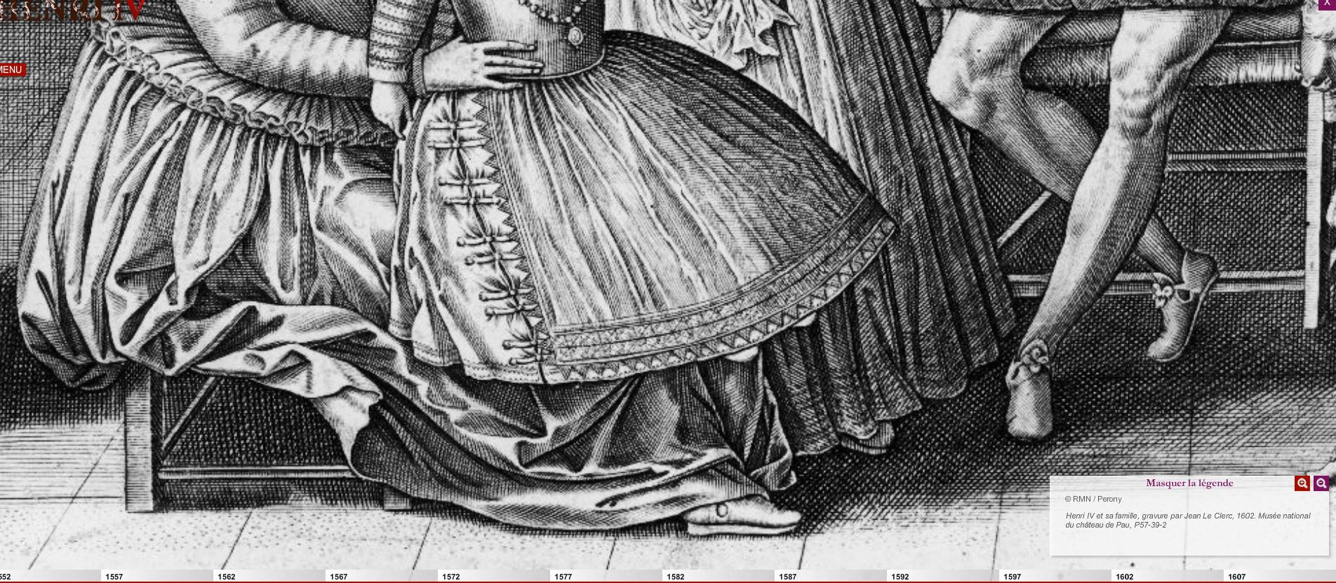 1602 - Henri IV et sa famille - Jean Le Clerc
