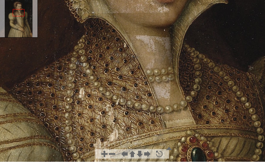 date unknown - a noblewoman (detail) - image from Christies' auction