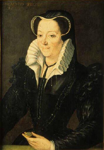 1577 - Portrait de la femme du Sénateur Millet - CARRACHYO