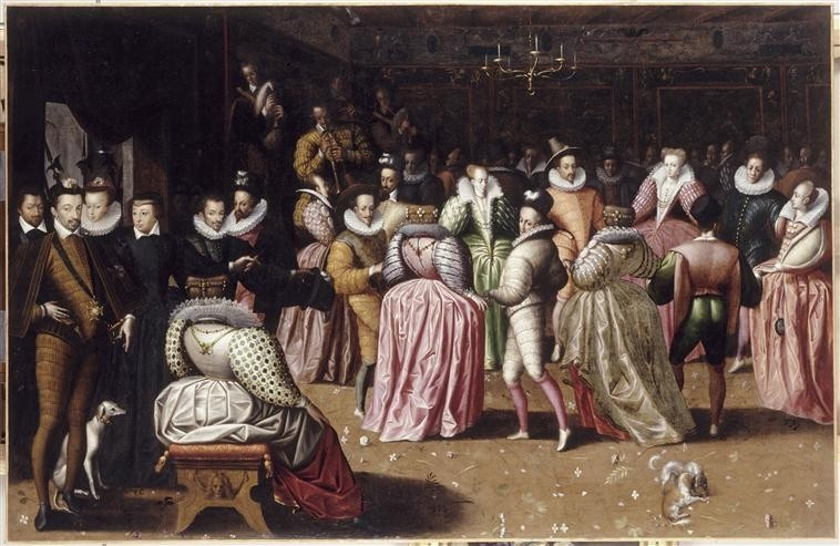 1582 (after) - Bal à la cour d'Henri III - French school