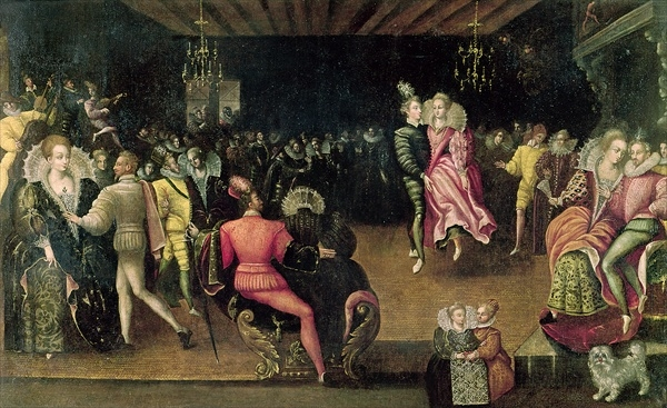1580 (approx) - Ball at the Court of Valois - French School