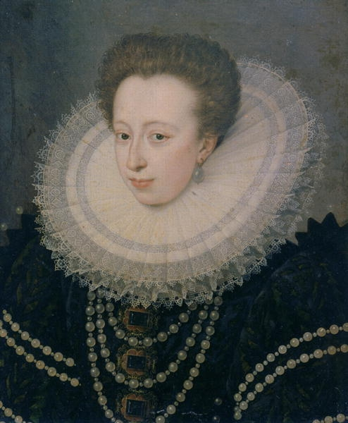 1588 - Christine of Lorraine - FRENCH SCHOOL