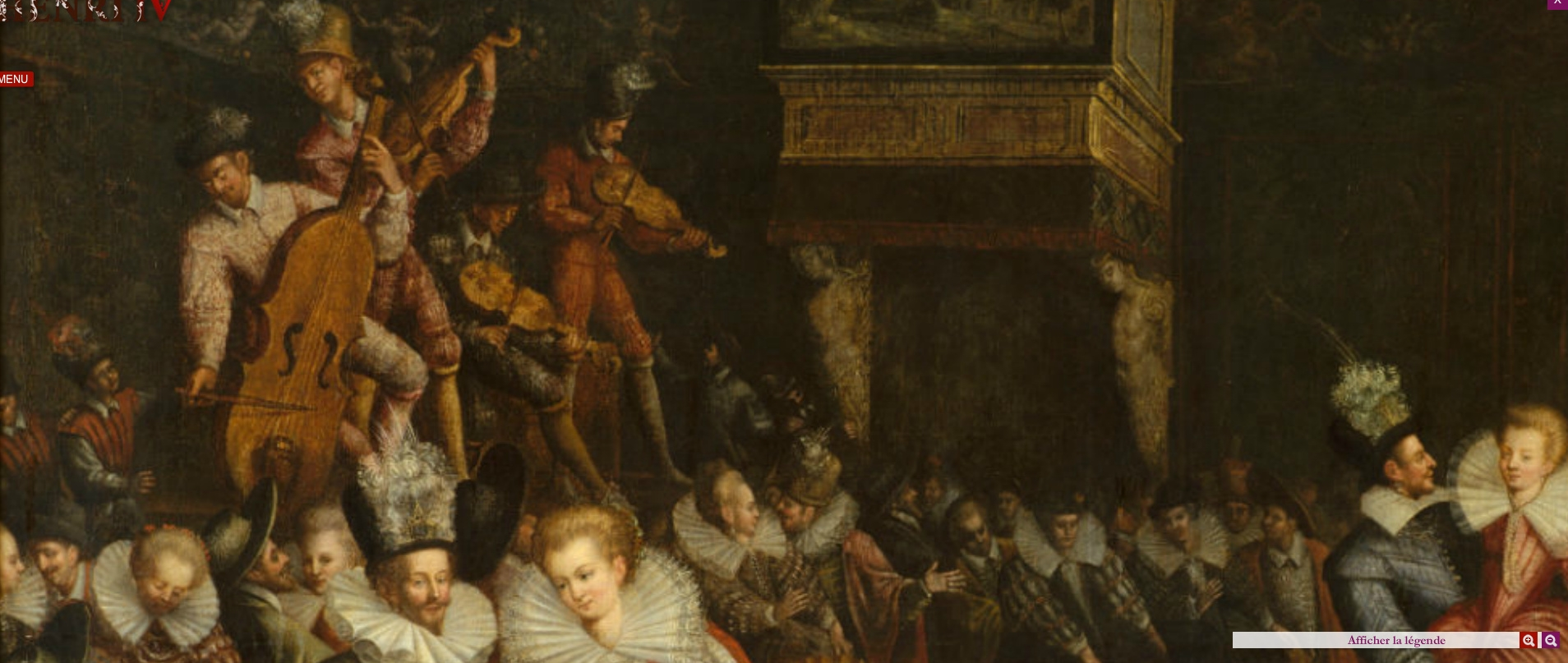 1580 - Bal a la cour des Valois - French school