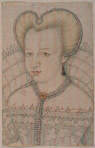 date unknown (likely late 16th century) - Portrait d'une dame non identifiée , unknown artist -