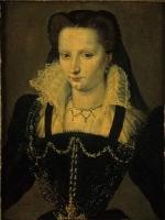 date unknown - Portrait présumé de Marguerite de Valois, Duchesse de Savoie by CARRACHYO
